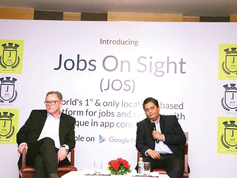 India's leading Platform #JOS APP </br>JOB SEARCH | HIRE | Advertise